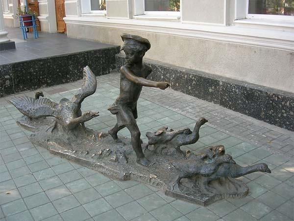 Памятник нахаленку в ростове на дону изготовление памятников в тамбове элеватор