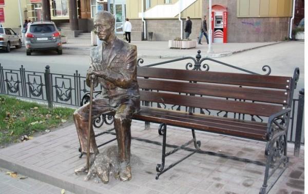 Памятник Ветерану - Достопримечательности Калужской области